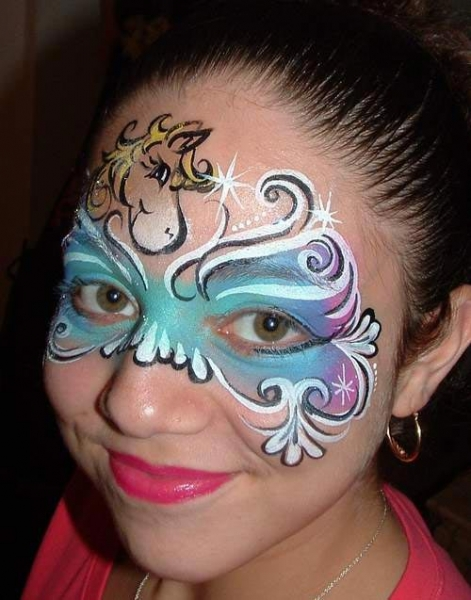 Face painting by Maddy Wayne