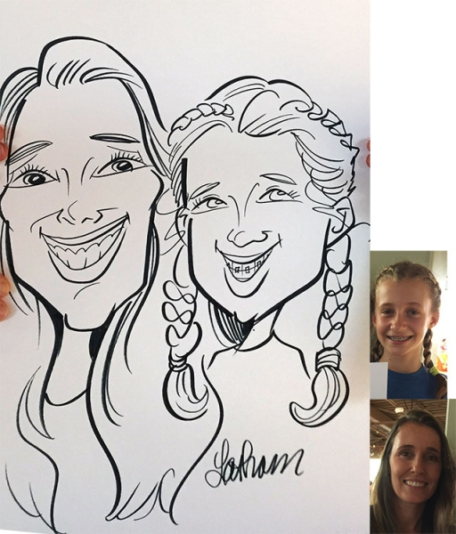 Tracy Latham Caricature Artist