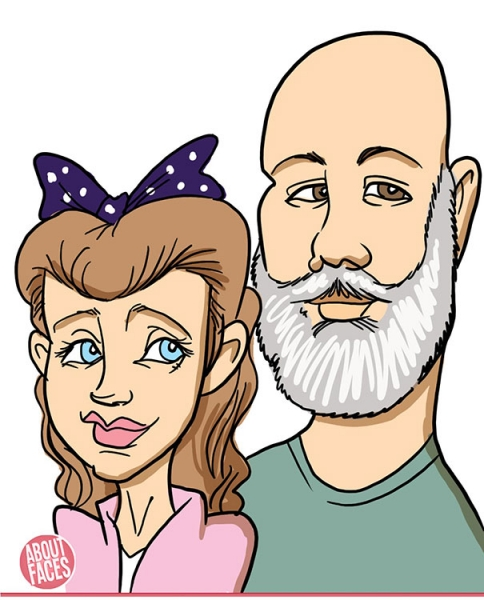 Liston Morris Digital Caricature Artist