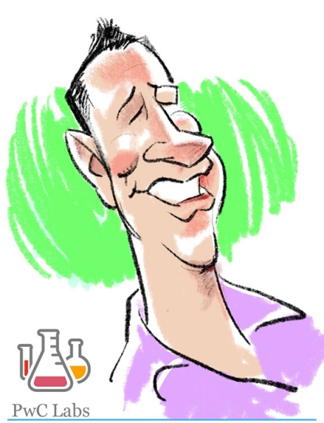 Ed Steckley Digital Caricature Artist