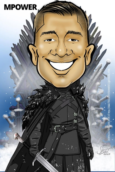 Robert Stolt Digital Caricature Artist