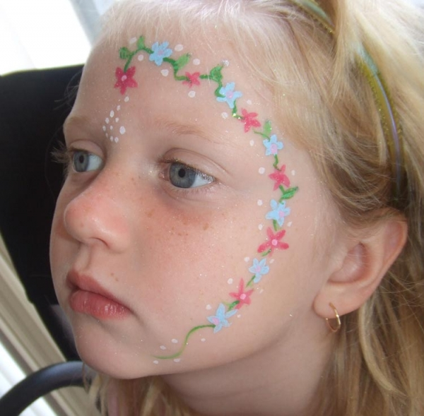 Face painting by Candice Clark
