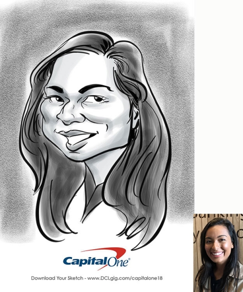 Mike Hasson Digital Caricature Artist