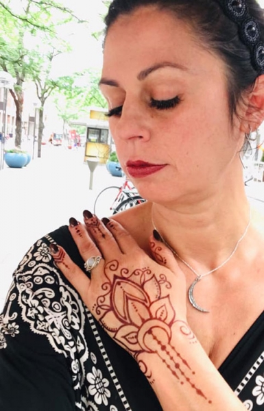 Sadie Madrid Henna Tattoo Artist