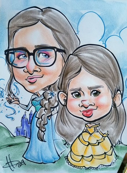 Kara Phillips Caricature Artist