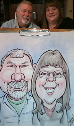 Ronnie Smith Caricature Artist