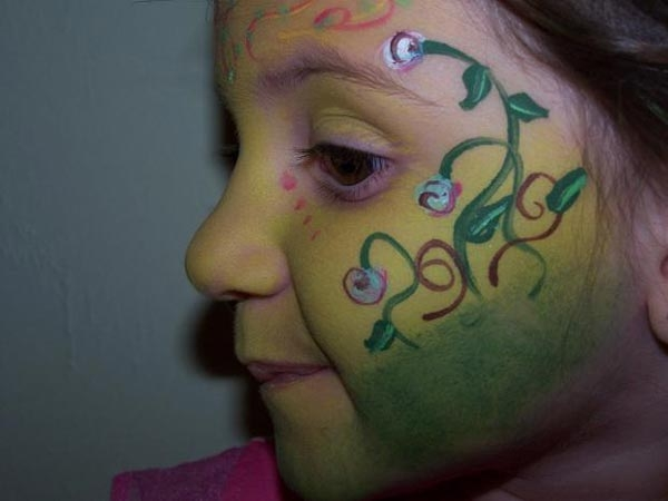 Face painting by Abby Matos