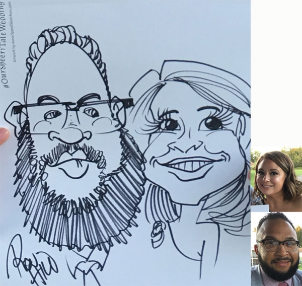 Ron Hill Caricature Artist