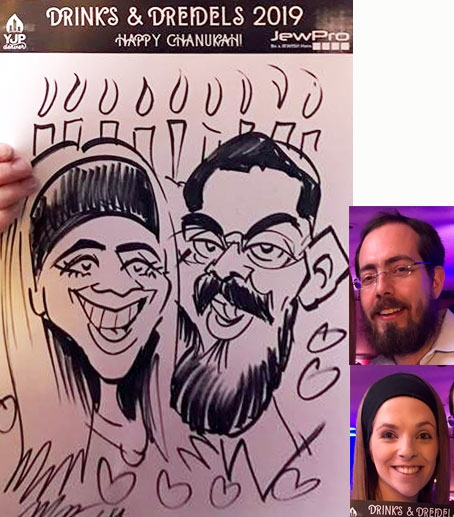 Mark Hall Caricature Artist