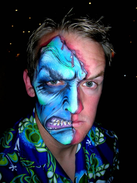Face painting by Renette