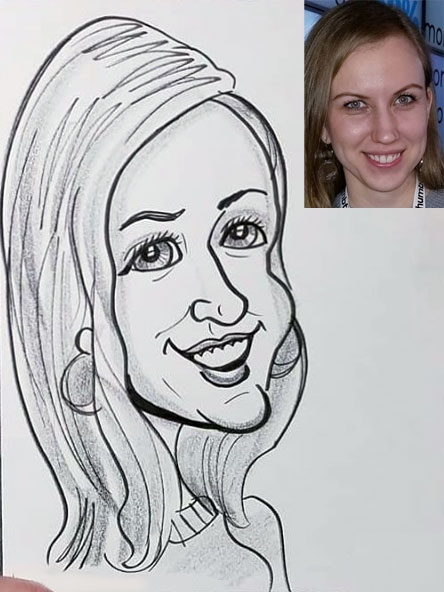 Kevin Coffee Caricature Artist
