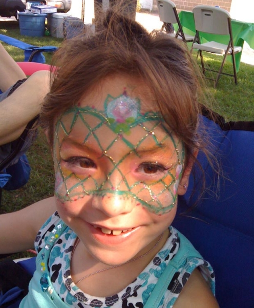 Face painting by Eileen Cimino