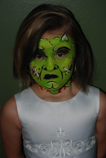 Face painting by Laurie Hessler