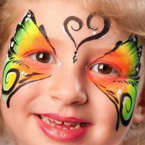 Face painting by Pnina Hanoken