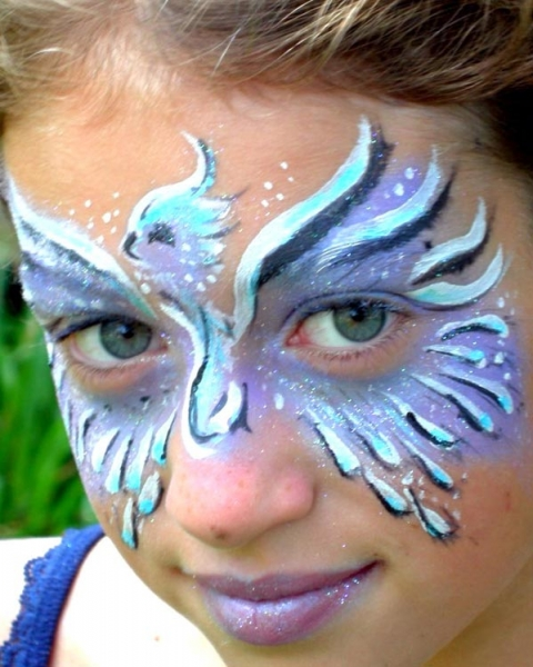Face painting by Catalina La Pointe