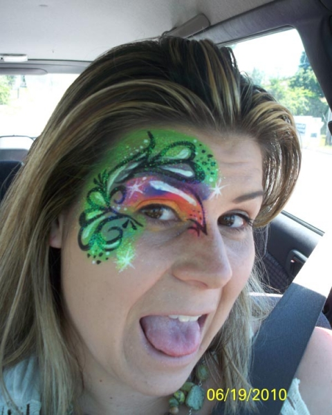 Face painting by Jenna Rodriguez