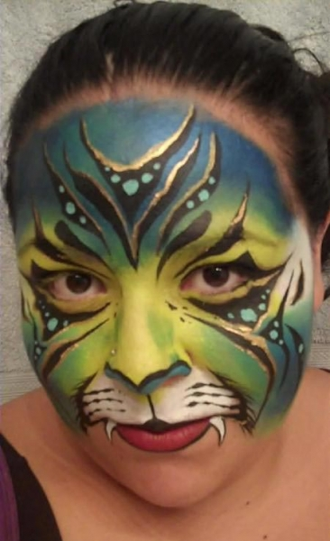 Face painting by Jenny Abarca