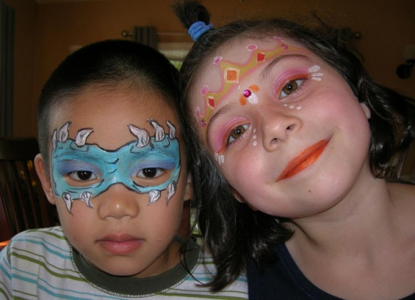 Face painting by Judianne Gillis