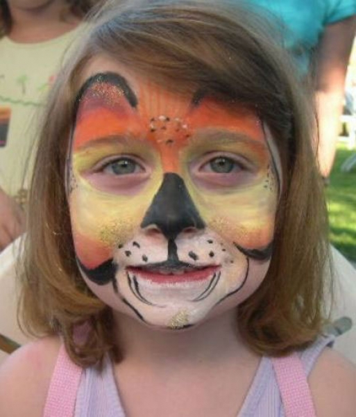 Face painting by Rebecca Marona