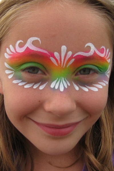 Face painting by Roberta Mandella
