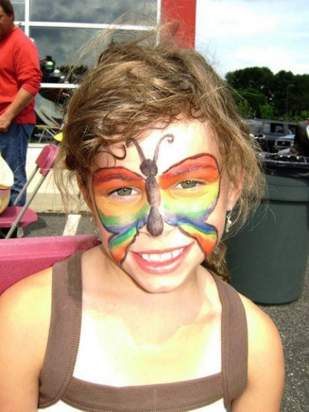 Face painting by Zoher Bootwala