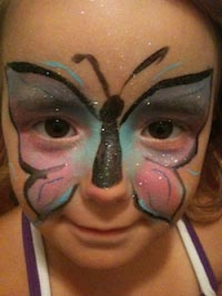 Face painting by Kim Eubanks
