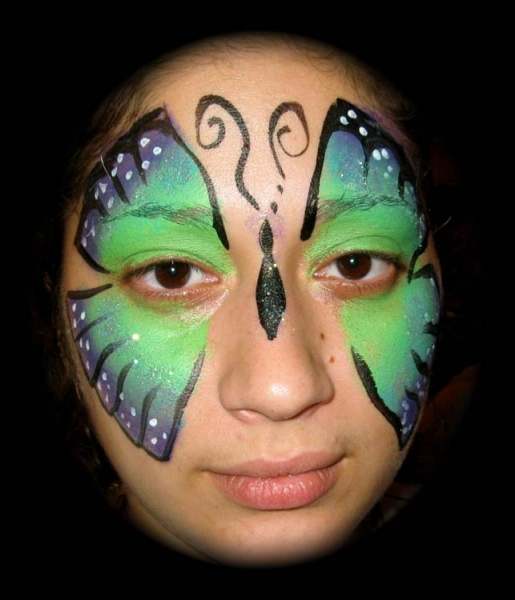 Face painting by Jazzana