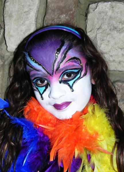 Face painting by Jese Monsalve