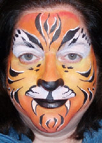 Face painting by Trudy Murphy