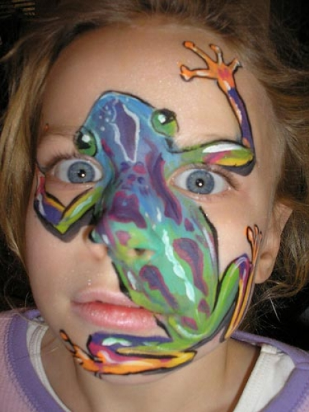 Face painting by Cheryl Painter
