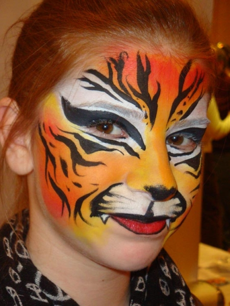 Face painting by Diane Spadola