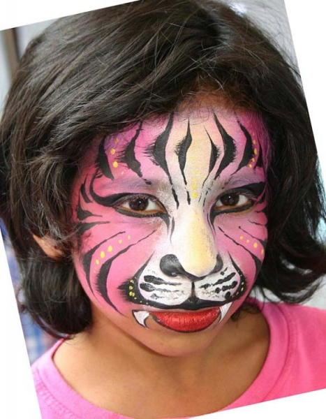 Face painting by Athena