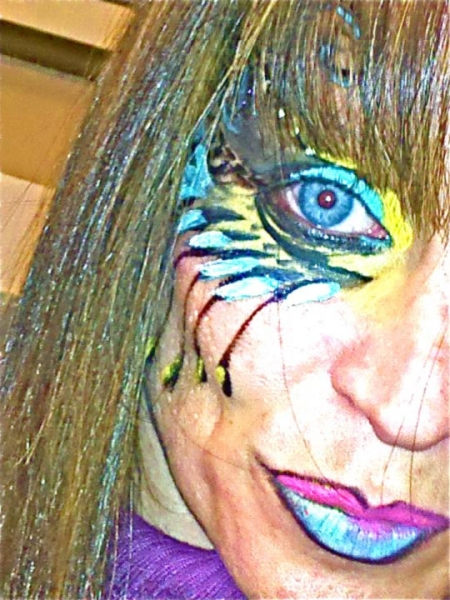 Face painting by Lee Meltz