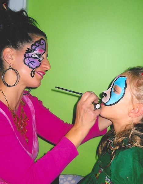 Face painting by Melissa Munn