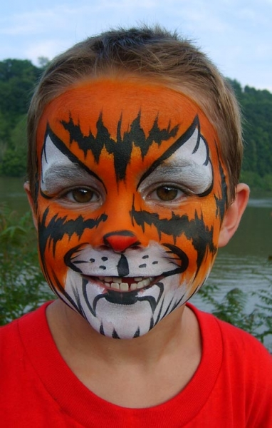 Face painting by Jessica Kramer