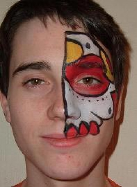 Face painting by Rebecca Rose