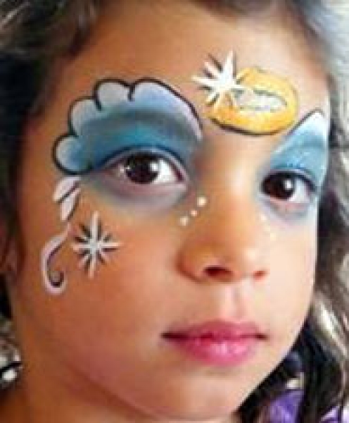 Face painting by Barbie Smith