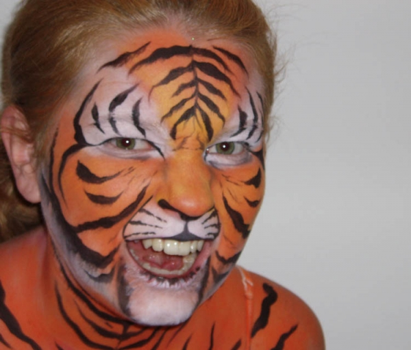 Face painting by Kerry Ann Smith