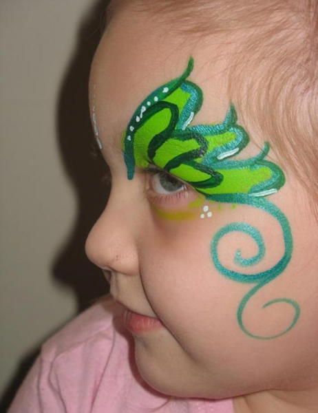 Face painting by Alicia Vasquez