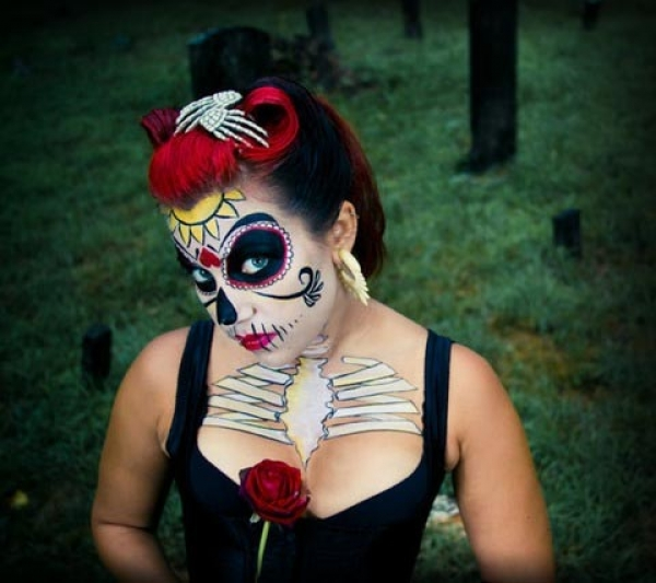 Face painting by Terra Fender
