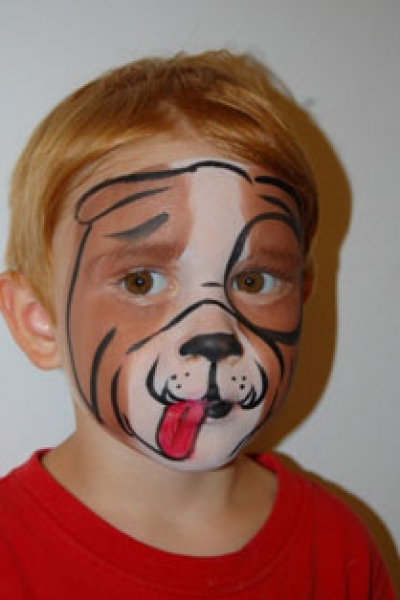 Face painting by Melody Scruggs