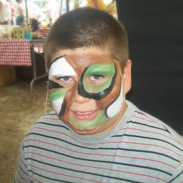 Face painting by Rocquina Vaughan