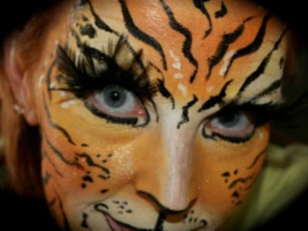 Face painting by Donna Christensen