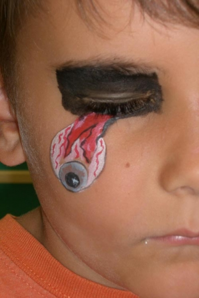 Face painting by Phyllis Schulte