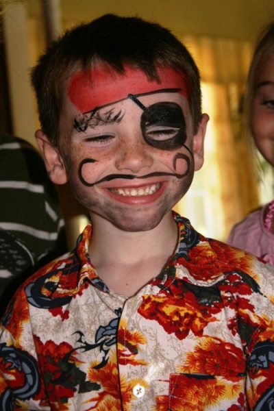 Face painting by Valerie Tutson