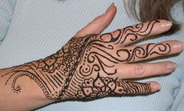 Henna tattoo design by Jesse Harrell
