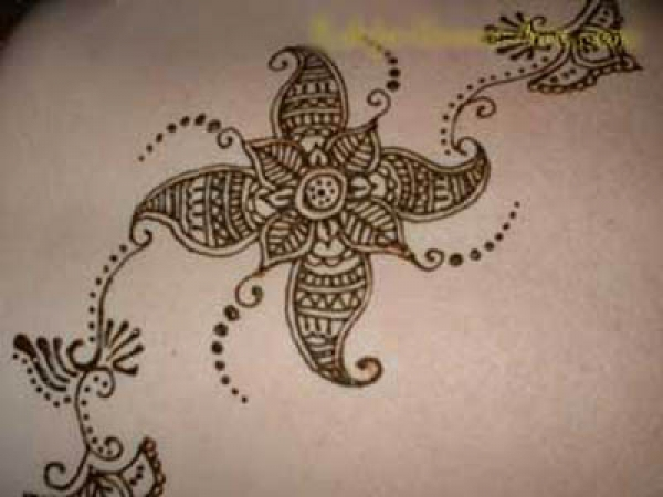 Henna tattoo design by Rahja