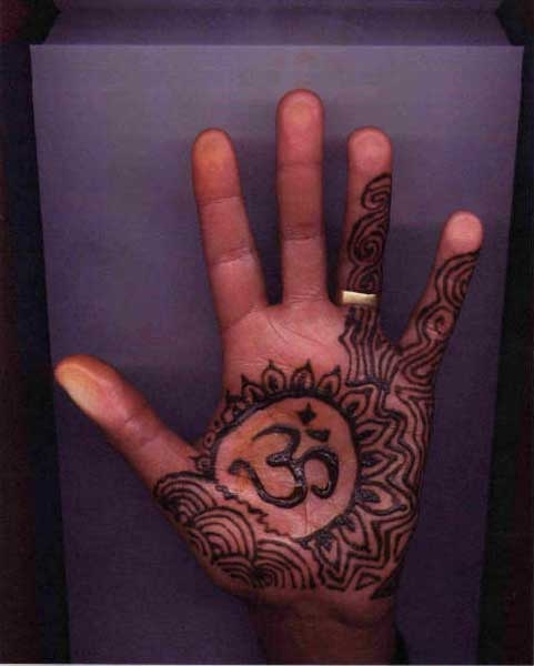 Henna tattoo design by Paul Hernandez