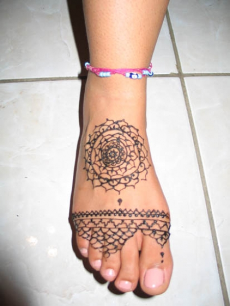 Henna tattoo design by Arianne Traverso