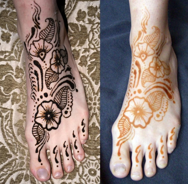 Henna tattoo design by Sophy Tuttle